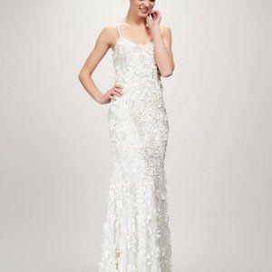 THEIA MAYA 890440 WEDDING GOWN Size 0 2 4 10 NEW